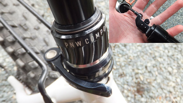 Fatbike Republic Fat Bike PNW Rainier 150 IR Dropper Post Review Dropper Install