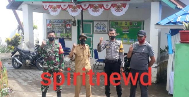 Sinergitas TNI-POLRI, Utamakan Keamamanan dan Kenyamanan Masyarakat di Wilayah Binaannya