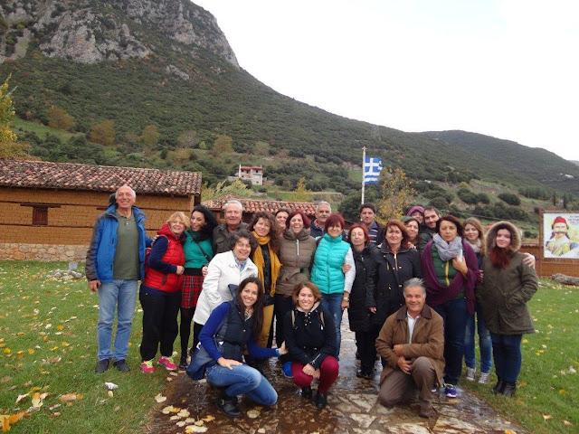 """Εκδρομή της """"Ελληνικής Παράδοσης"""" στην Αμφίκλεια Βοιωτίας"""