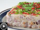 Orh Kueh (Steamed Yam Cake)