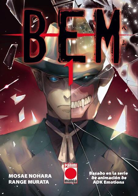 Panini Cómics ha anunciado la licencia del manga BEM