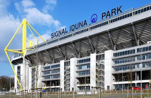 The Signal Iduna Park Stadium in Dortmund