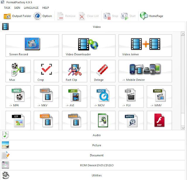 Download Format Factory - Phần mềm convert, đổi đuôi video mới nhất b