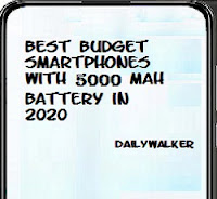 Budget smartphones with 5000 mAh battery