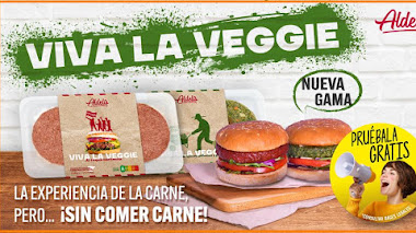 Prueba gratis las hamburgesas Veggie de Aldelís