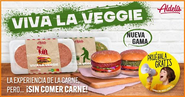 Prueba gratis Viva la Veggie Aldelís