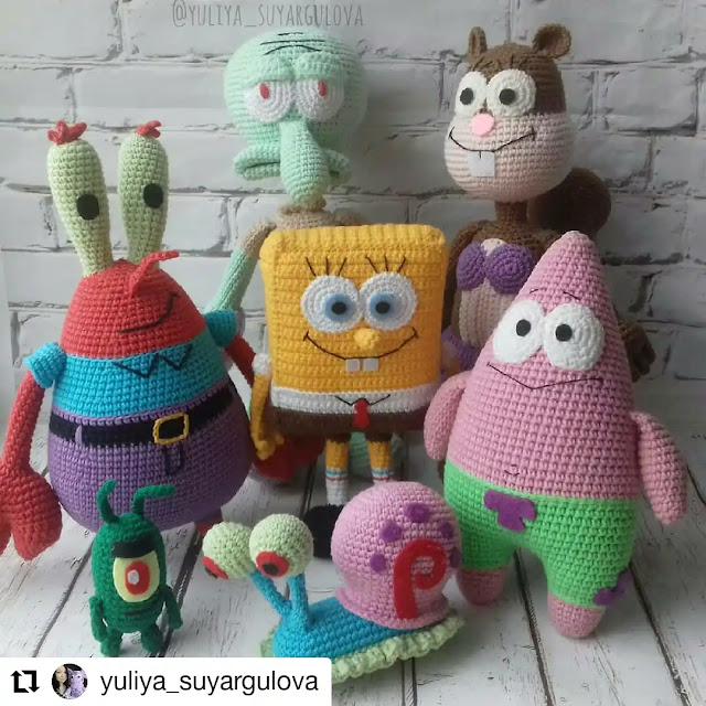Peluches a Crochet | Galería de Ideas y Enlaces a Tutoriales