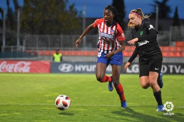 El Málaga Femenino cae con orgullo ante el Atlético Féminas (4-2)
