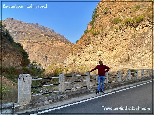 Road, Anni, Basantpur, Arki, Luhri