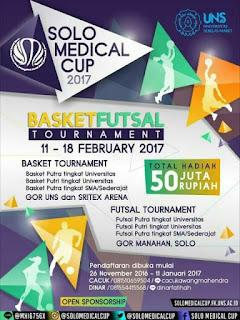 Lomba Futsal dan Lomba Basket 2017 (Solo Medical Cup 2017)