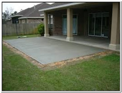 Poured Cement Patio Cost Cheap