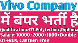 ITI, Diploma, Graduate Job Vacancy in Vivo Mobile India Pvt. Ltd Greater Noida, Uttar Pradesh Selection By Online Interview