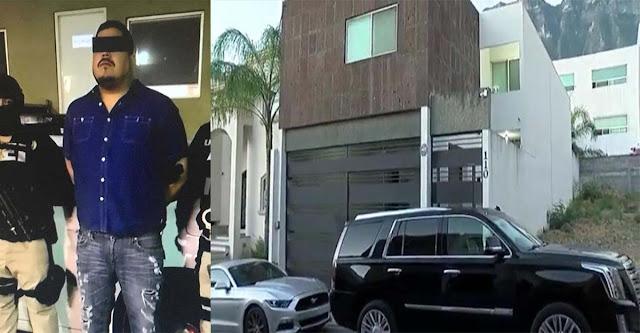 """Capturan a importante líder del Cártel del Golfo """"La Yegua"""" en zona residencial de Cumbres Élite en Monterrey"""