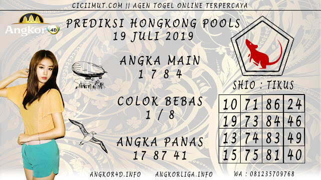 PREDIKSI HONGKONG POOLS 19 JULI 2019