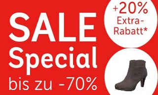 afc4e48e283cf7 Mirapodo Sale  Schuhe bis zu 70% reduziert + 20% Extra-Rabatt dieses  Wochenende