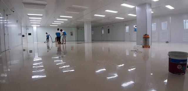 Vệ sinh sàn nhà xưởng - GoClean