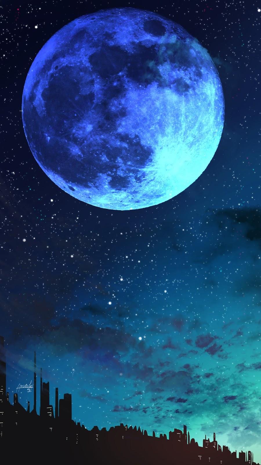 Mặt trăng xanh