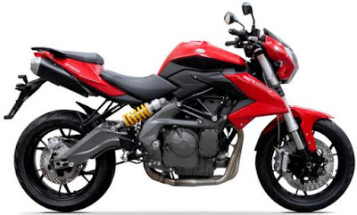 Benelli TNT 600i ABS right side;