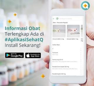 Download SehatQ.com Aplikasi Kesehatan Berbasis Digital Indonesia