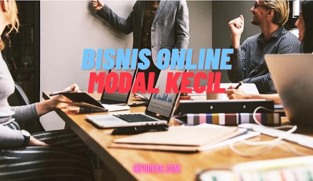 Bisnis online modal kecil terbaru