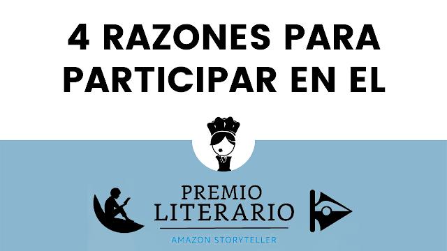 4 razones participar Premio literario Amazon 2021