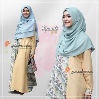 Gamis Yasmeera Kinanti Dress K-4