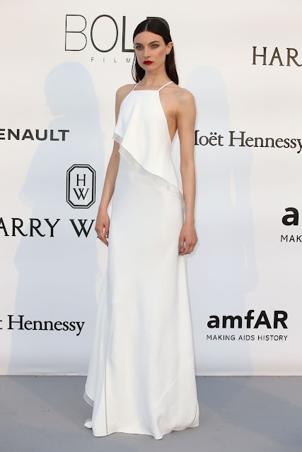 Fashion Model, @ Jacquelyn Jablonski attends the amfAR's 23rd Cinema Against AIDS Gala