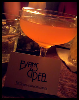 Evans and Peel Detective Agency Cocktail Bar Review