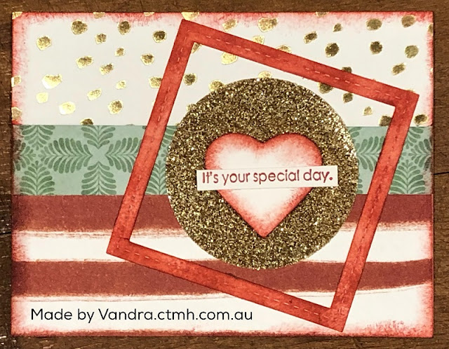 #CTMHVandra, Colour dare, gold foil, special, glitter, stitched thin cuts, hearts, #ctmhlovely, colour wheel, #ctmhStarsandSparklers, sponging, retiring, Birthday, Wedding, Anniversary, color dare,