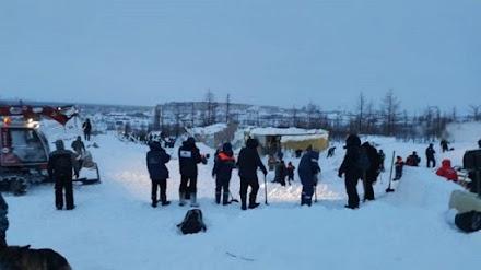 Ρωσία : Τουλάχιστον 12 άτομα παγιδευμένα από χιονοστιβάδα σε θέρετρο σκι