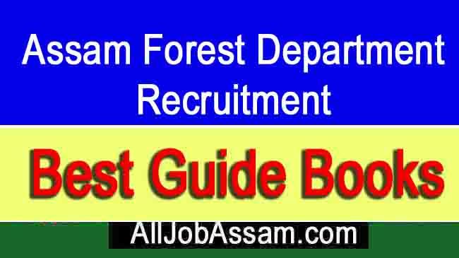 Assam Forest Guard Guide Books