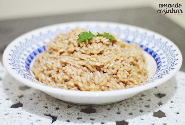 risoto de costela