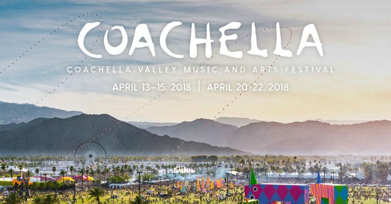 Festival de música y arte Coachella 2018