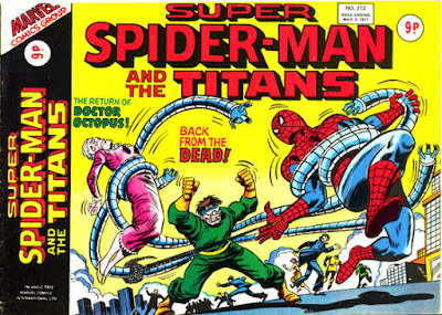 Super Spider-Man and the Titans #213, Dr Octopus