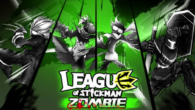 Download League of Stickman Zombie Mod Apk Terbaru