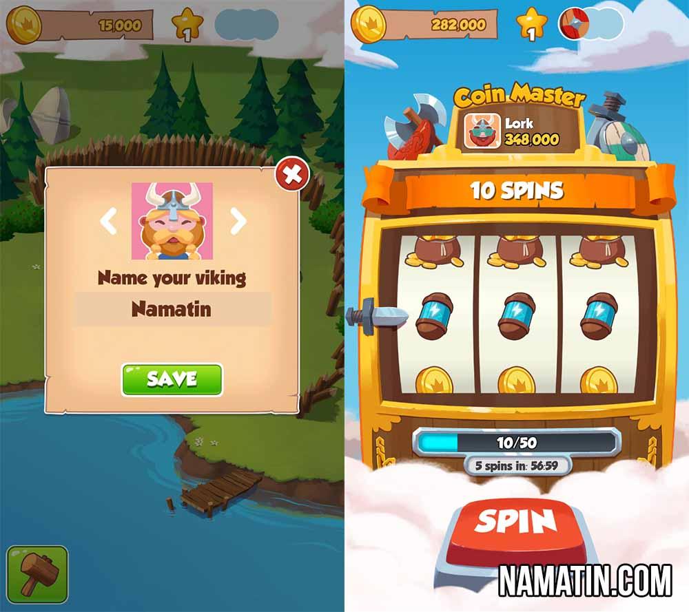 Gratis coin master spins games