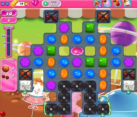 Candy Crush Saga 853