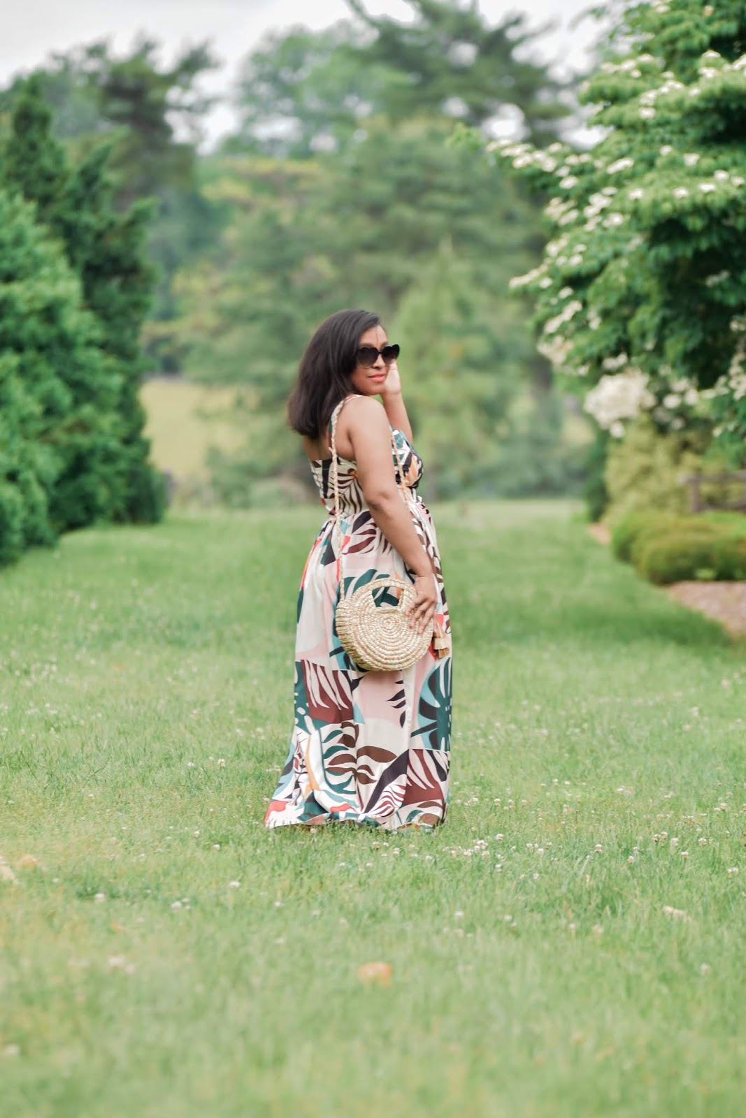 Shein, shein dresses, tropical print, summer dresses, summer outfit ideas, boyd virginia, virginia is for lovers