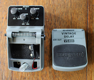 Behringer Vintage Delay Pedal Working VD400