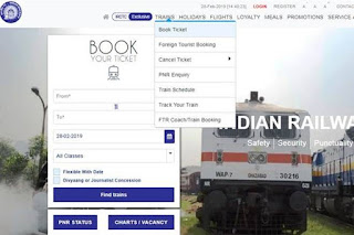 HOW TO BOOK TICKETS ON IRCTC