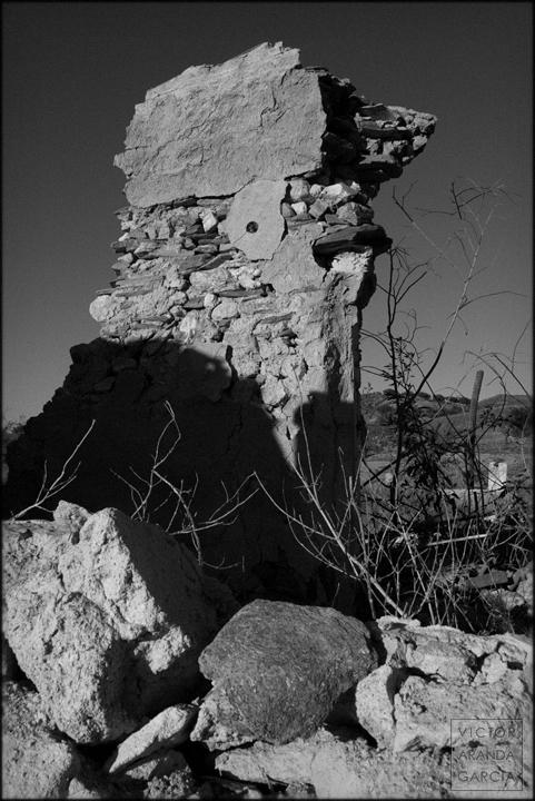 fotografía, paisaje, Murcia, Tallante, ruina, Límites, serie