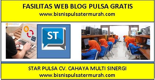 Cara Membuat Web Blog Pulsa Gratis
