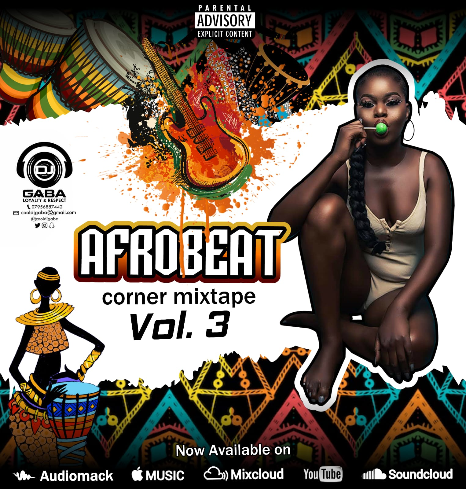 DJ Gaba - Afrobeat Corner Mix (Pt 3) #Arewapublisize