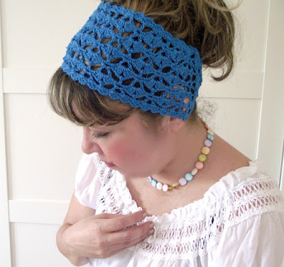 Liliacraftparty Christy Headband Crochet Pattern