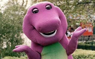Tas Boneka Barney