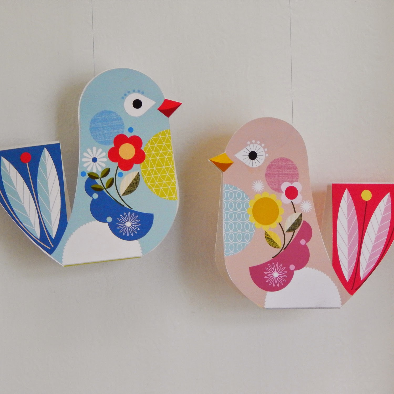 Ellen Giggenbach: FREE PRINTABLE LITTLE LOVE BIRDS PAPER