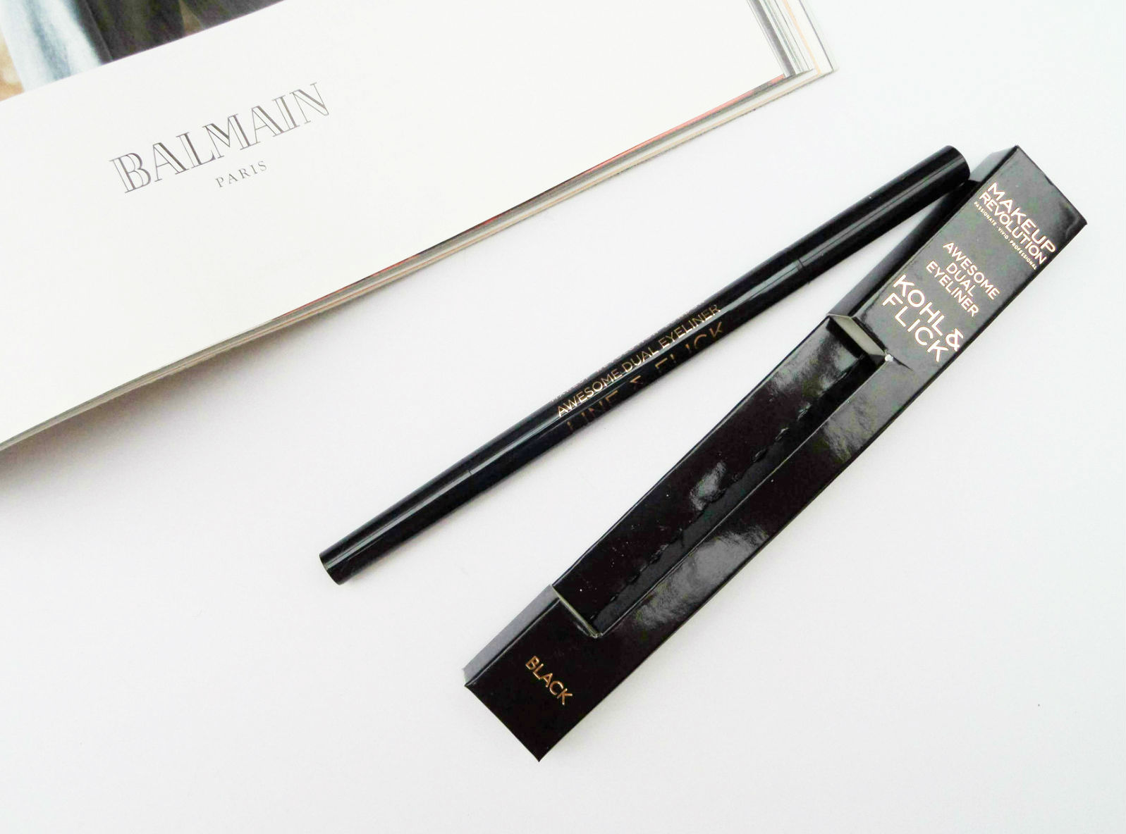 The Makeup Revolution Kohl & Flick Eyeliner Review
