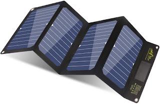 Portable Slim Solar Phone Charger BigBlue