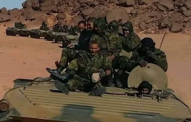 ⭕️ عاجل | قيادات عليا بالجيش المغربي تعطي أوامر لقواتها بالتراجع بـ(15 كلم) عن المخيم الإحتجاجي بالگرگرات