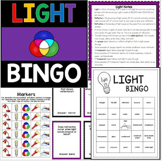 https://www.teacherspayteachers.com/Product/Light-Energy-Review-Bingo-2283835